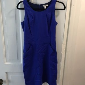 Blue j crew dress. Size 2